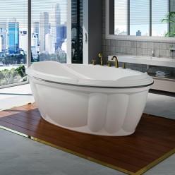 """Акриловая ванна """"Гранада"""" перламутровая"""