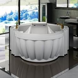 """Акриловая ванна """"Монте-карло"""" с панелью"""