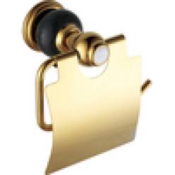 Настенный держатель туалетной бумаги (gold)