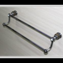 Полотенцедержатель двойной (chrome)