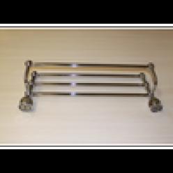 Полотенцедержатель с полочкой (chrome)