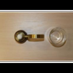 Настенный держатель-стаканчик (bronze)