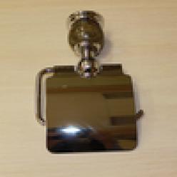 Настенный держатель туалетной бумаги (bronze)
