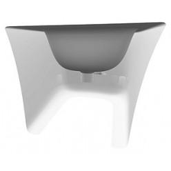Биде подвесное ArtCeram Cow CWB001 black&white