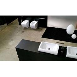 Биде напольное Hidra Ceramica Hi-line черное