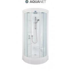 Душевая кабина Aquanet Malibu 86х86, без гидромассажа, стекло прозрачное