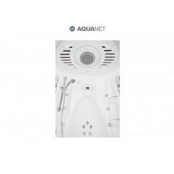 Душевая кабина Aquanet Taiti 110×110 без пара с гидромассажем, стекло прозрачное