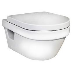 Комплект Унитаз подвесной Gustavsberg Hygienic Flush WWC 5G84HR01 безободковый + Система инсталляции для унитазов Grohe Rapid SL 38750001 4 в 1