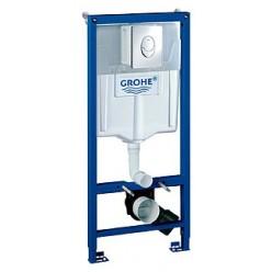 Комплект Унитаз подвесной Villeroy & Boch O'Novo 5660 H101 alpin + Система инсталляции для унитазов Grohe Rapid SL 38721001 3 в 1 с кнопкой смыва
