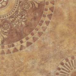 Damasc темно-бежевый Плитка напольная (DM4D152-63) 33х33