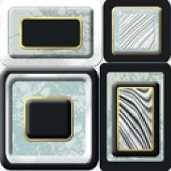 Emperador Декор напольный белый (EM6G052) 11х11 20шт