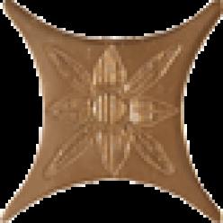 Estrella Charme Bronce Вставка 6,7x6,7