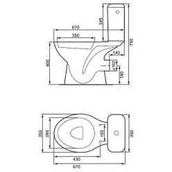 Унитаз-компакт Cersanit President P011 сиденье дюропласт