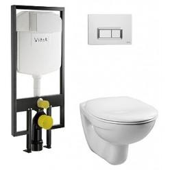 Комплект VitrA Normus 9773B003-7200 кнопка хром