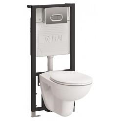 Комплект VitrA Normus 9773B003-7203 кнопка матовый хром