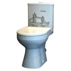 Унитаз-компакт Оскольская керамика Лорена Тауэр