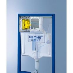Комплект Унитаз подвесной Gustavsberg Hygienic Flush WWC 5G84HR01 + Инсталляция Grohe Rapid SL 38721001 + кнопка смыва хром