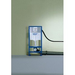 Комплект Система инсталляции для унитазов Grohe Rapid SL 38721001 3 в 1 с кнопкой смыва + Унитаз подвесной Ideal Standard Oceane W707301