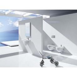Комплект Чаша для унитаза подвесного Roca Meridian 346248000 укороченная + Крышка-сиденье Roca Meridian 8012AC004 с микролифтом + Система инсталляции