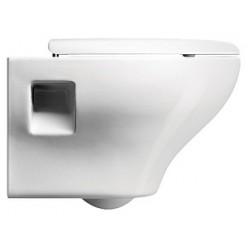 Комплект Чаша для унитаза подвесного GSI City MCITY1811 + Крышка-сиденье GSI City MSCITYCN11 + Инсталляция Viega Eco-WC 673192 4 в 1 с кнопкой смыва
