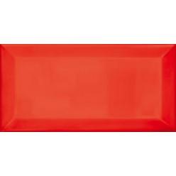Plaqueta Biselado Rojo Плитка настенная 10x20