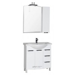 Мебель для ванной Aquanet Асти 85 белая