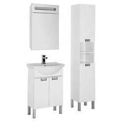Мебель для ванной Aquanet Адель 60 белая