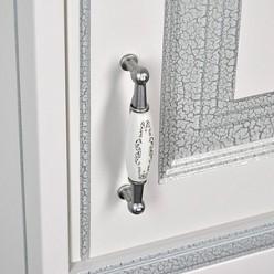 Мебель для ванной Aquanet Валенса 70 белый краколет/серебро