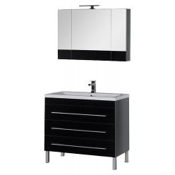 Мебель для ванной Aquanet Верона 100 черная