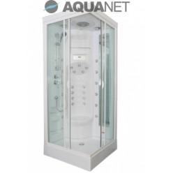 Душевая кабина Aquanet FIJI Cube 90х90, без пара, стекло прозрачное