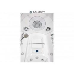 Душевая кабина Aquanet FIJI Cube 90х90, с паром, стекло прозрачное