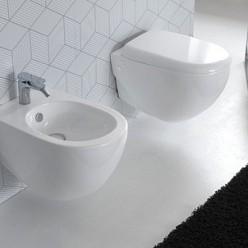 Биде подвесное Hidra Ceramica ABC белое