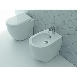 Биде напольное Hidra Ceramica ABC белое