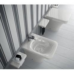 Биде напольное Hidra Ceramica Flat белое