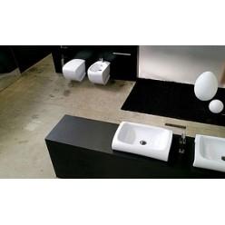 Биде напольное Hidra Ceramica Hi-line белое