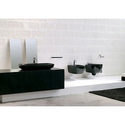 Унитаз приставной Hidra Ceramica Dial черный
