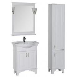 Шкаф-пенал Aquanet Валенса белый