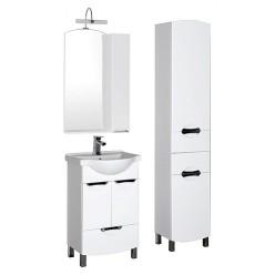 Шкаф-пенал Aquanet Асти 40 белый