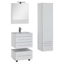 Шкаф-пенал Aquanet Верона белый