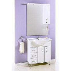 Зеркало-шкаф Aqwella Харизма 80