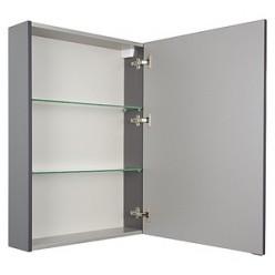 Зеркало-шкаф Aquanet Алвита 60 серый антрацит