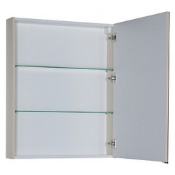 Зеркало-шкаф Aquanet Алвита 70 сливочный