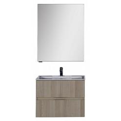 Зеркало-шкаф Aquanet Алвита 70 ясень коимбро