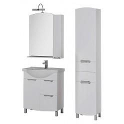 Зеркало-шкаф Aquanet Асти 75 белый