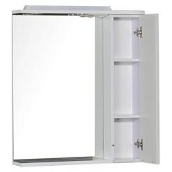 Зеркало-шкаф Aquanet Гретта 75 белый
