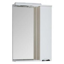 Зеркало-шкаф Aquanet Гретта 60 светлый дуб