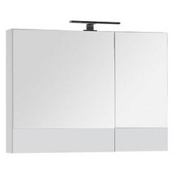Зеркало-шкаф Aquanet Верона 90 белый