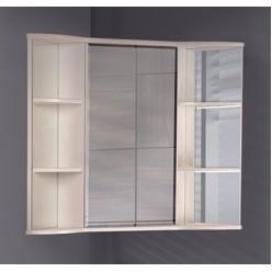 Зеркало-шкаф Onika Арно 60.00 R белое дерево
