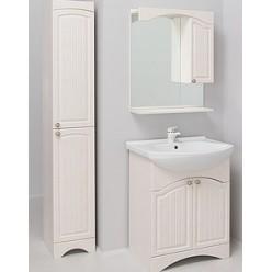 Зеркало-шкаф Onika Арно 65.01 R белое дерево