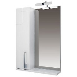 Зеркало-шкаф Triton Диана 80 L с подсветкой